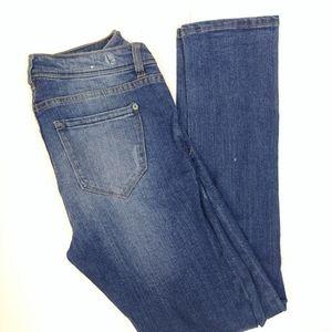 Kensie Womens Jeans Size 27x29 Tomboy Boyfriend